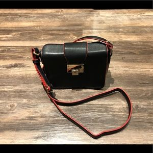 Black and red Melie Bianco Crossbody